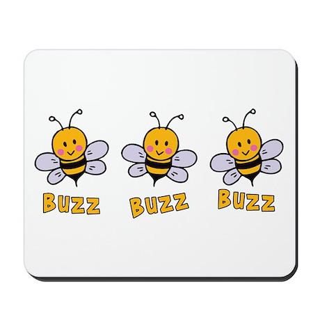 Buzz Buzz Bee Mousepad