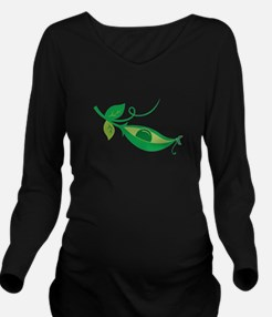 Pea In A Pod Long Sleeve Maternity T-Shirt