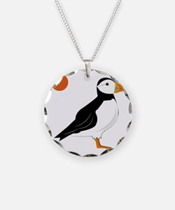 Puffin Bird Necklace