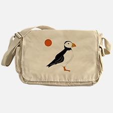 Puffin Bird Messenger Bag