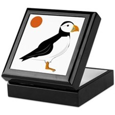 Puffin Bird Keepsake Box