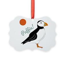 Puffin! Bird Ornament