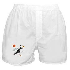 Puffin! Bird Boxer Shorts