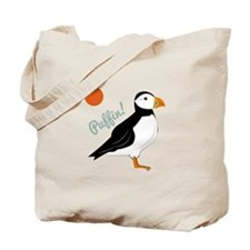 Puffin! Bird Tote Bag