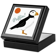 Puffin! Bird Keepsake Box