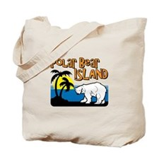 Polar Bear Island Tote Bag