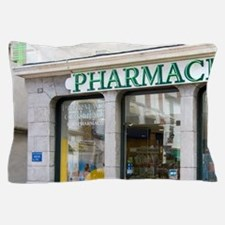 Exterior of a Pharmacie in the town of Pillow Case