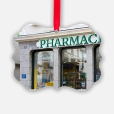 Exterior of a Pharmacie in the to Ornament