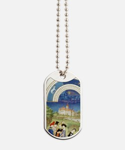 Tres Riches Heures by Limbourg Bros. Apri Dog Tags