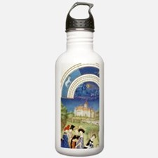 Tres Riches Heures by  Sports Water Bottle