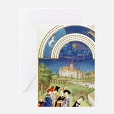 Tres Riches Heures by Limbourg Bros. Greeting Card