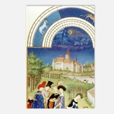 Tres Riches Heures by Lim Postcards (Package of 8)