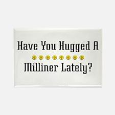 Hugged Milliner Rectangle Magnet