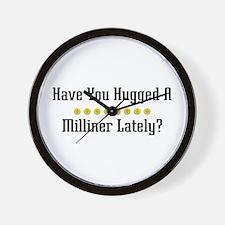 Hugged Milliner Wall Clock