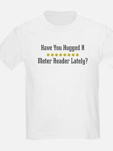 Hugged Meter Reader T-Shirt
