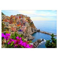 Cinque Terre, Italy Framed Print