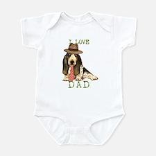 Basset Dad Infant Bodysuit
