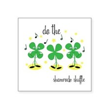 Shamrock Shuffle Sticker