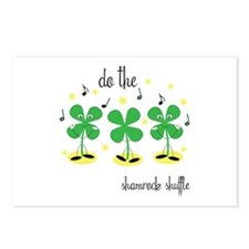 Shamrock Shuffle Postcards (Package of 8)