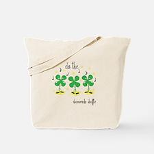 Shamrock Shuffle Tote Bag