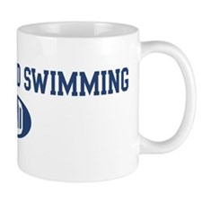 Synchronized Swimming dad Mug