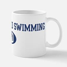 Synchronized Swimming dad Mug