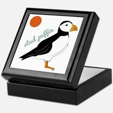 Stud Puffin Keepsake Box