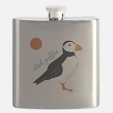 Stud Puffin Flask