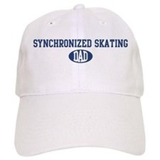 Synchronized Skating dad Baseball Cap