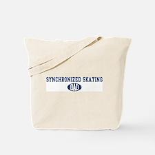 Synchronized Skating dad Tote Bag