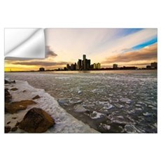 Detroit River Wall Decal