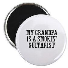 "my grandpa is a smokin' guita 2.25"" Magnet (10 pac"