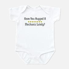 Hugged Mechanic Infant Bodysuit