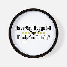 Hugged Mechanic Wall Clock