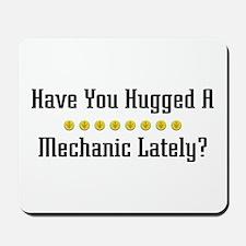 Hugged Mechanic Mousepad