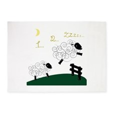 Counting Sheep 5'x7'Area Rug
