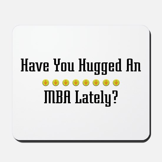 Hugged MBA Mousepad