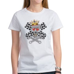 Racing Skull nad Wrenches Tee