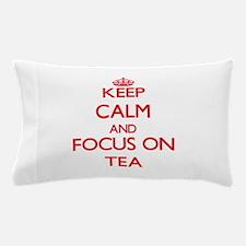 Cute Boston tea party Pillow Case