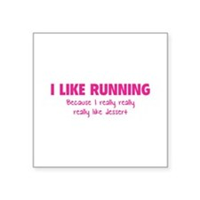 I like running Because I really really really like