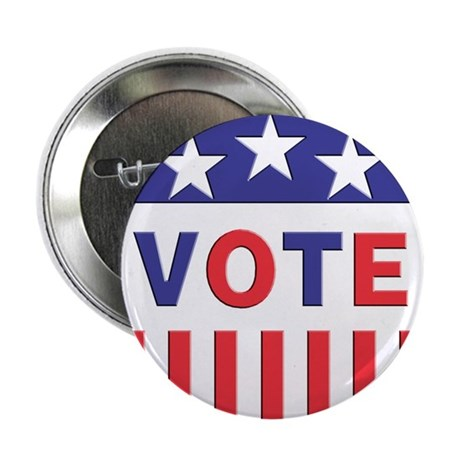 "Vote Political 2.25"" Button (100 pack)"