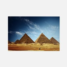 Great Pyramids Rectangle Magnet
