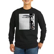 Vf-103 Jolly Rogers Long Sleeve T-Shirt