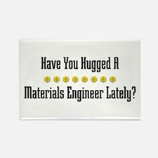 Hugged Materials Engineer Rectangle Magnet
