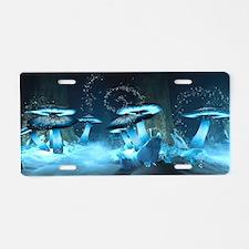 Ice Fairytale World Aluminum License Plate