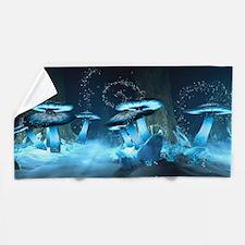 Ice Fairytale World Beach Towel