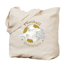 Football Colors Blue And Yellow Tote Bag