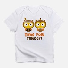 Thanksgiving Owls Infant T-Shirt