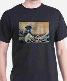 The Great Wave off Kanagawa - Hokusai - Japan T-Sh