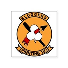VF-103 Sluggers Rectangle Sticker